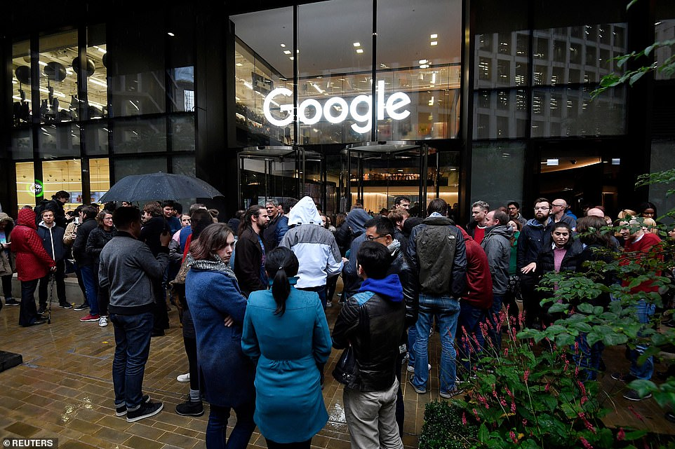 Google walkout for real changes